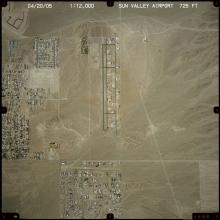 Aerial View:  Sun Valley Airport
