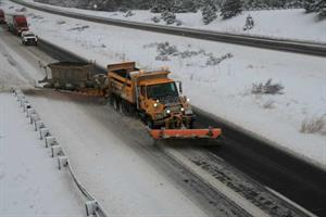 TowPlow in operation on I-17