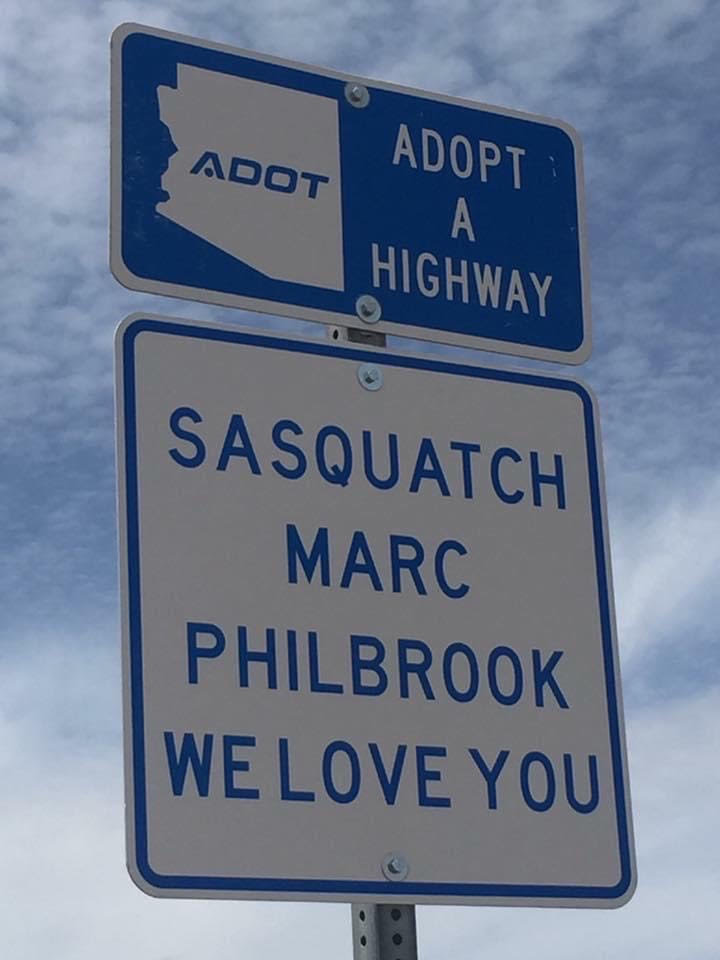 Sasquatch highway mile