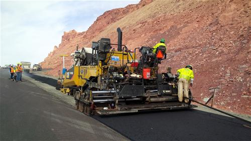 US 89 Paving Underway